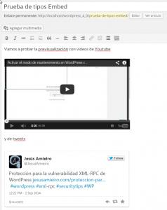 Editar artículo ‹ Pruebas — WordPress