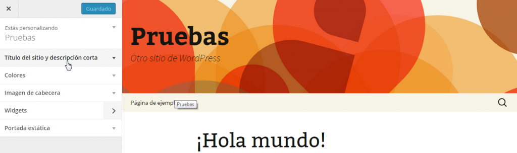 Personalizar Twenty Thirteen — WordPress 4.0