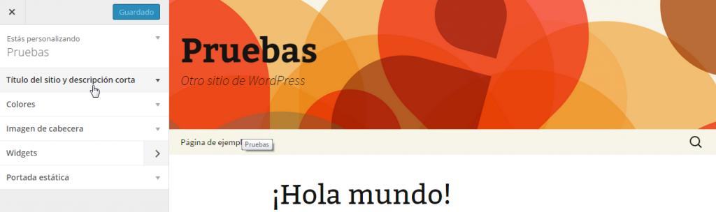 Personalizar Twenty Thirteen — WordPress 4.0