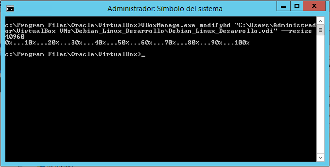 Resize a Virtual Machine Disk in VirtualBox-02