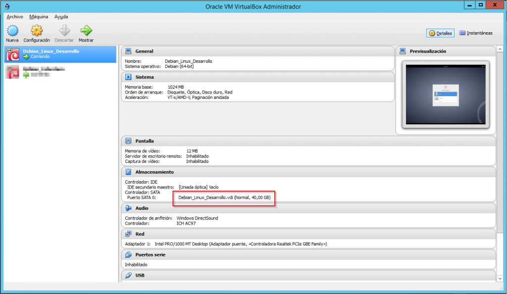 How To Resize a Virtual Machine's Disk in VirtualBox - Jesús