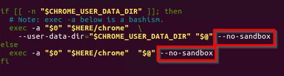 Google Chrome can not be run as root - Jesús Amieiro